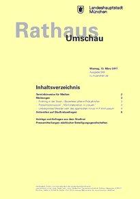 Rathaus Umschau 49 / 2017