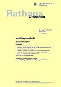 Rathaus Umschau 50 / 2017