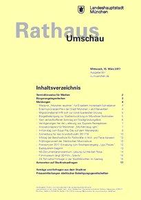 Rathaus Umschau 51 / 2017