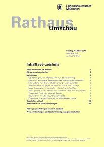 Rathaus Umschau 53 / 2017