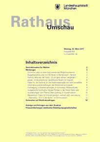 Rathaus Umschau 54 / 2017