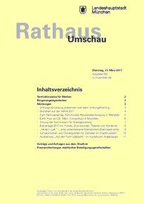 Rathaus Umschau 55 / 2017