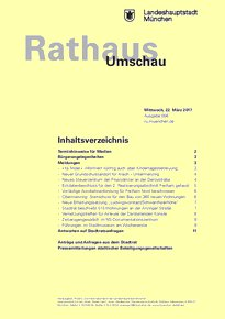 Rathaus Umschau 56 / 2017