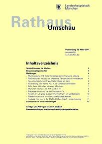 Rathaus Umschau 57 / 2017