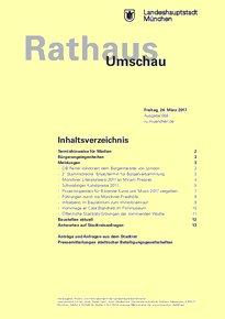 Rathaus Umschau 58 / 2017