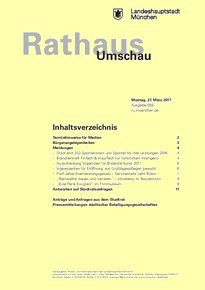 Rathaus Umschau 59 / 2017