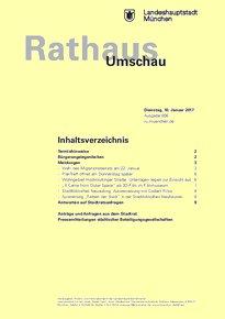 Rathaus Umschau 6 / 2017