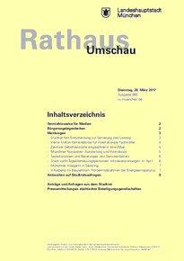 Rathaus Umschau 60 / 2017