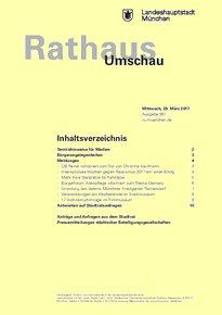 Rathaus Umschau 61 / 2017