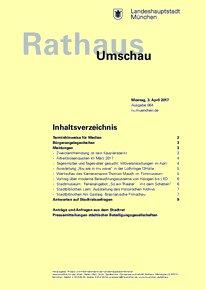 Rathaus Umschau 64 / 2017