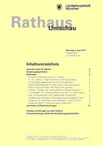 Rathaus Umschau 65 / 2017