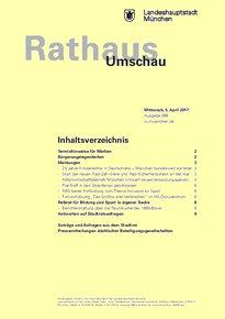 Rathaus Umschau 66 / 2017