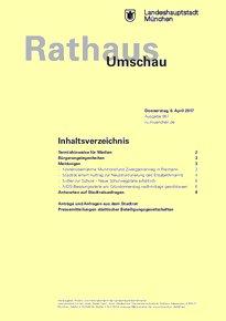 Rathaus Umschau 67 / 2017