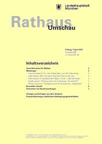 Rathaus Umschau 68 / 2017