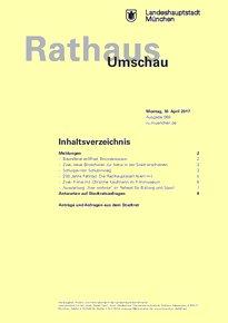 Rathaus Umschau 69 / 2017