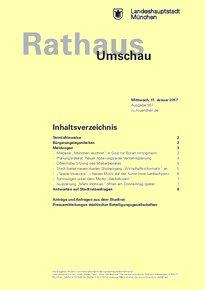 Rathaus Umschau 7 / 2017