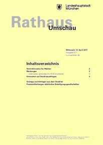 Rathaus Umschau 71 / 2017