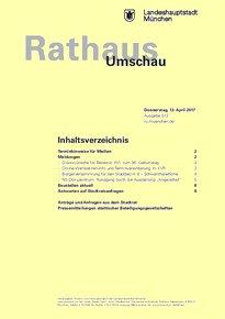 Rathaus Umschau 72 / 2017