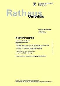 Rathaus Umschau 73 / 2017