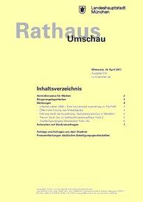 Rathaus Umschau 74 / 2017