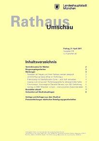 Rathaus Umschau 76 / 2017