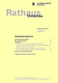 Rathaus Umschau 77 / 2017