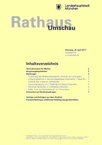 Rathaus Umschau 78 / 2017