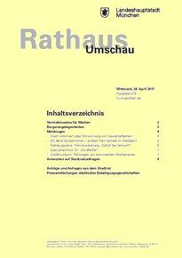 Rathaus Umschau 79 / 2017