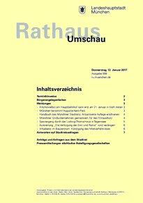 Rathaus Umschau 8 / 2017