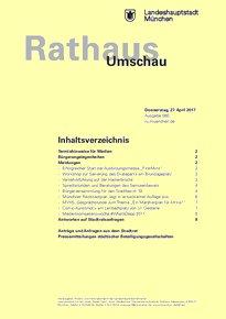 Rathaus Umschau 80 / 2017