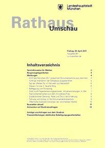 Rathaus Umschau 81 / 2017