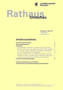 Rathaus Umschau 83 / 2017