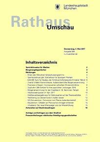 Rathaus Umschau 84 / 2017