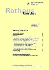 Rathaus Umschau 85 / 2017
