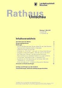 Rathaus Umschau 86 / 2017