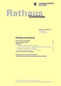 Rathaus Umschau 92 / 2017