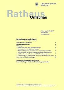 Rathaus Umschau 93 / 2017