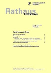 Rathaus Umschau 95 / 2017