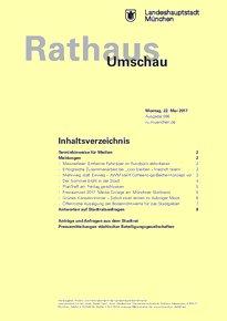 Rathaus Umschau 96 / 2017
