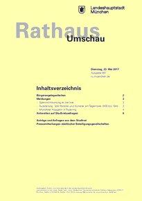 Rathaus Umschau 97 / 2017