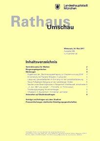 Rathaus Umschau 98 / 2017