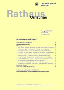 Rathaus Umschau 99 / 2017