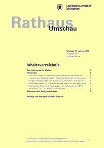 Rathaus Umschau 10 / 2018
