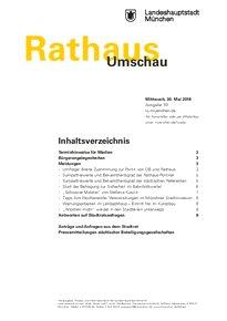 Rathaus Umschau 101 / 2018
