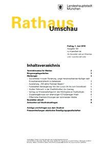 Rathaus Umschau 102 / 2018