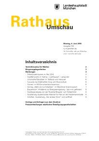 Rathaus Umschau 103 / 2018