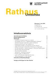 Rathaus Umschau 104 / 2018