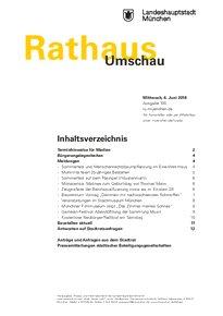 Rathaus Umschau 105 / 2018