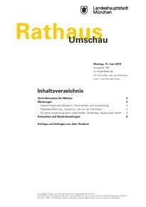 Rathaus Umschau 108 / 2018