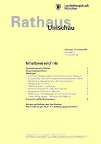 Rathaus Umschau 11 / 2018